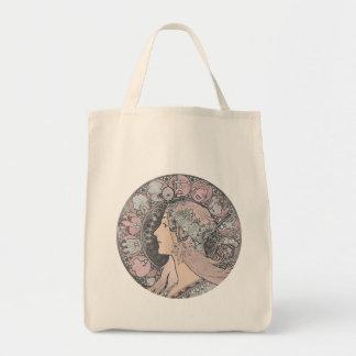 Art Nouveau Vintage Woman Bag