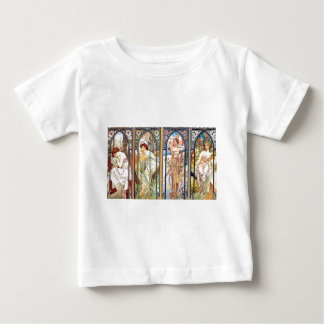 Art Nouveau Windows Baby T-Shirt