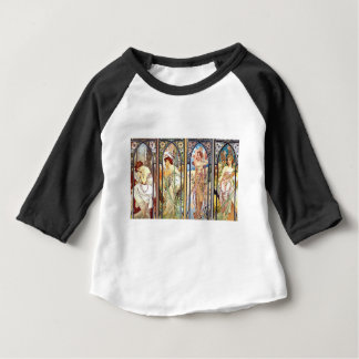 Art Nouveau Windows Baby T-Shirt