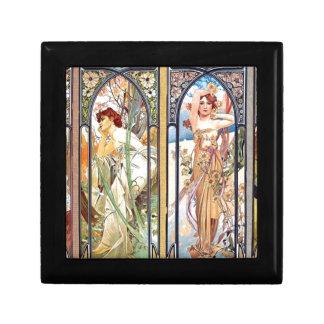 Art Nouveau Windows Gift Box