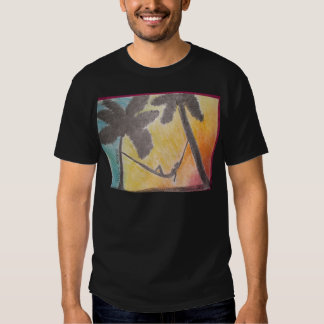 Art Nouveau with a Tropical Twist Tshirt