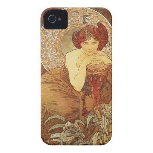 Art Nuevo Case iPhone 4 Case-Mate Case