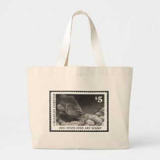 Art of Conservation Stamp – 2001 Jumbo Tote Bag