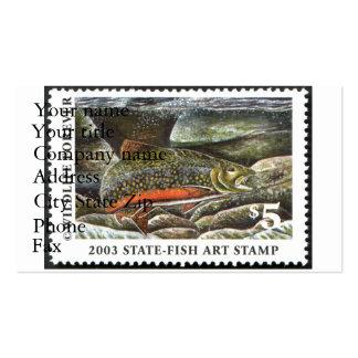 Art of Conservation Stamp – 2003 Pack Of Standard Business Cards