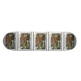 Art of Conservation Stamp – 2003 Skate Board Decks