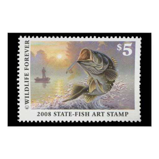 Art of Conservation Stamp 2008 Print