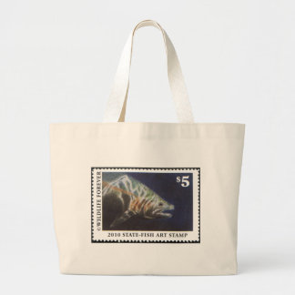 Art of Conservation Stamp - 2010 Jumbo Tote Bag