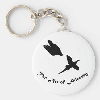 Art of Falconry- Peregrine Falcon Keychain
