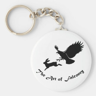 Art of Falconry - Red Tail Hawk Key Ring