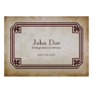 Art of Manliness Framed Calling Card Large Business Cards (Pack Of 100)