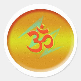 Art of Om Symbol Sticker