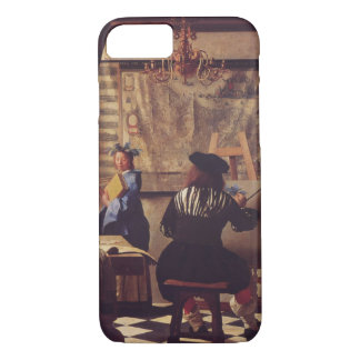Art Of Painting by Johannes Vermeer iPhone 8/7 Case