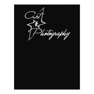 Art of photography 21.5 cm x 28 cm flyer