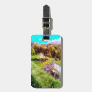 Art of some nature bag tag