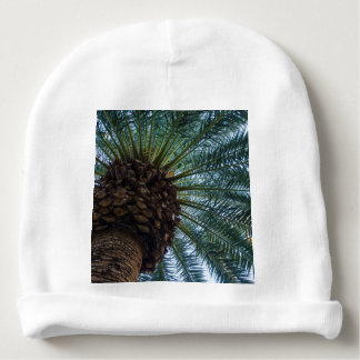 Art Of The Palm Tree Baby Beanie