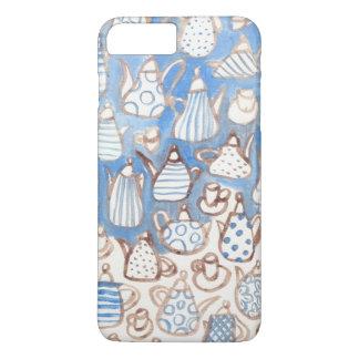 ART OILPAINTING PATTERN teapot IPHONE iPhone 7 Plus Case