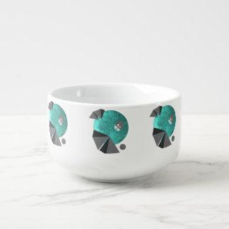 Art on bowl - Geisha