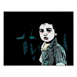 Art - Out Cry of a Syrian Boy.jpg Poster