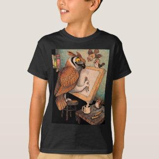 Art Owl T-Shirt