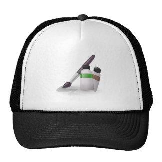 Art Paint Brush Trucker Hat