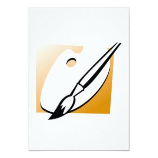 Art Palette 9 Cm X 13 Cm Invitation Card