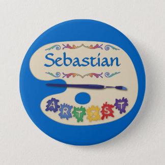 Art Palette Name Badge