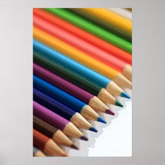Art Pencils Poster