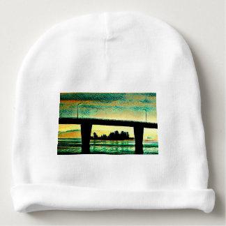 Art Photo The Bridge to St Joseph Island Baby Beanie