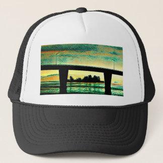 Art Photo The Bridge to St Joseph Island Trucker Hat
