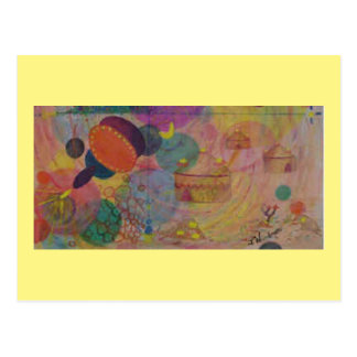Art Postcard 12: Organic Fantasty - OIL