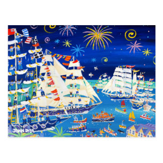 Art Postcard: Tall Ships and Small Ships 2014 Postcard