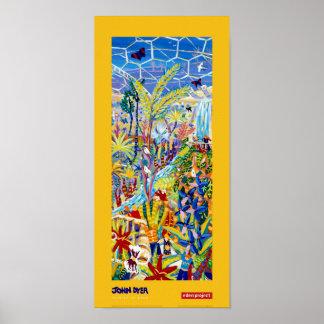 Art Poster: Artist in Residence for Eden Project Poster