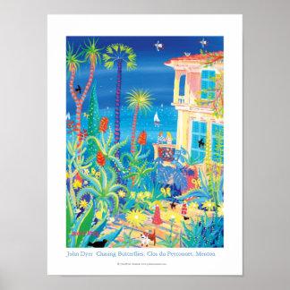 Art Poster: Chasing Butterflies, Clos du Peyronnet Poster