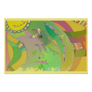 Art Poster - Ethnic - Abstract Art