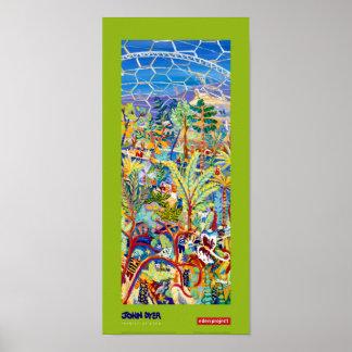 Art Poster: Lime Painter of Eden Poster
