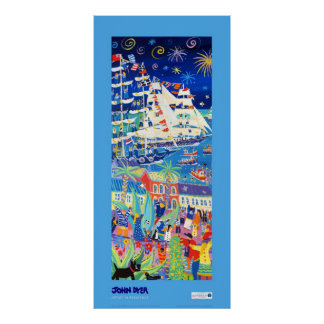 Art Poster: Tall Ships and Small Ships 2014 LEFT