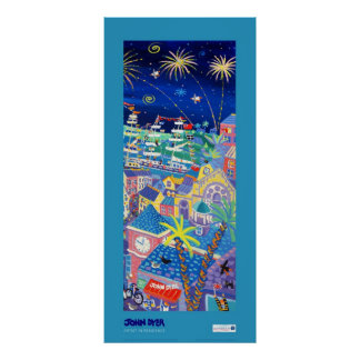 Art Poster: Tall Ships and Small Ships 2014 RIGHT