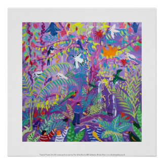 Art Print: Tropical Tweets
