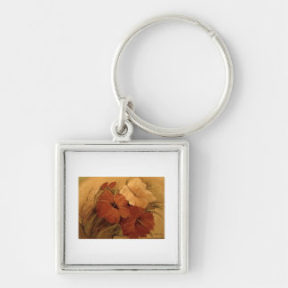 art products Silver-Colored square key ring