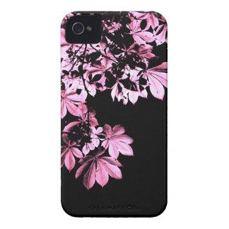 Art purple foliage Case-Mate iPhone 4 case