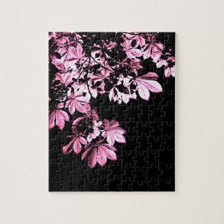 Art purple foliage jigsaw puzzle