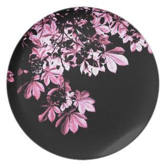 Art purple foliage plate