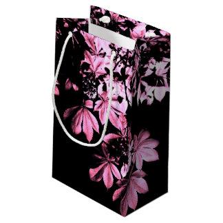 Art purple foliage small gift bag