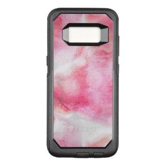 art red avant-garde background hand paint OtterBox commuter samsung galaxy s8 case