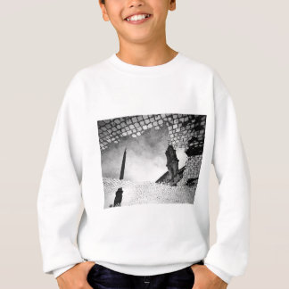 Art reflected sweatshirt