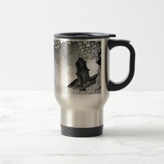 Art reflected travel mug
