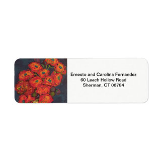 Art Return Address Label