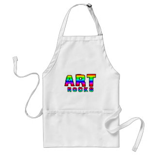 ART ROCKS STANDARD APRON