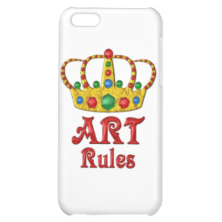 ART Rules iPhone 5C Cover