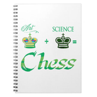 art+science=Chess Notebooks